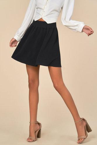 front_Rosalba Black Skirt