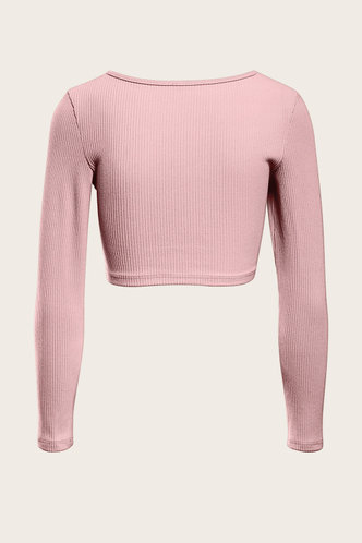 back_Better Together Dusty Pink Crop Top