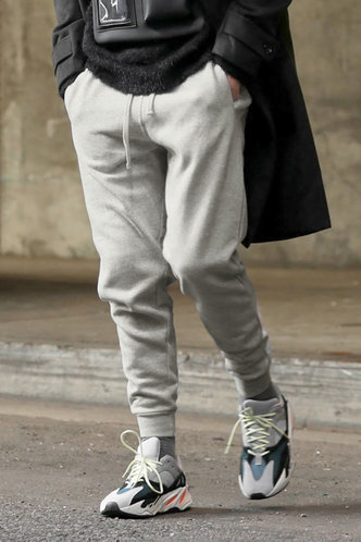 front_Casual Street Chic Long Sweatpants