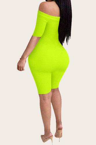 back_Rosie Elizabeth Lime Green Jumpsuit