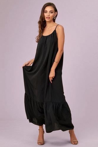front_Cabana Black Maxi Dress