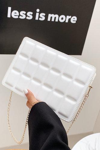 front_Macy Elvira White Crossbody Bag