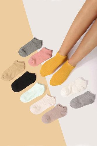 front_Gwen Elsie Multicolor Ankle Socks 10pairs