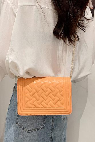 back_Annabelle Panum Orange Crossbody Bag
