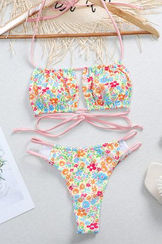 back_Brenda Eden Disty Floral Print Bikini