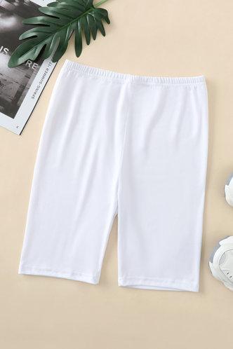 back_Libby Eden White Biker Shorts
