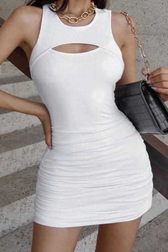 front_Cathie Elma White Tank Dress
