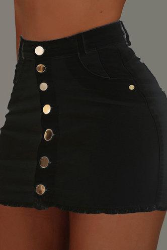 front_Inge Eden Black Skirt