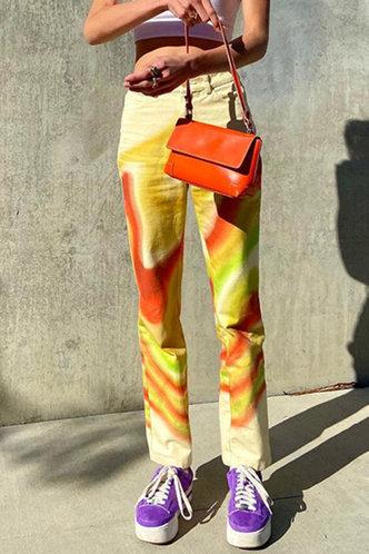 back_Eartha Horbek Multicolor Pants