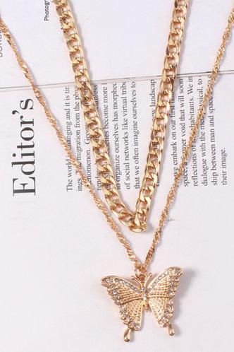 back_Anne Evangeline Gold Necklace 2pcs