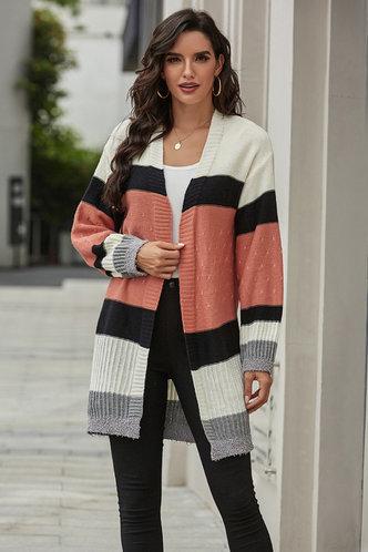 front_Giacinta Multicolor Cardigan