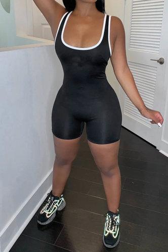 back_Molly Elvira Black Romper