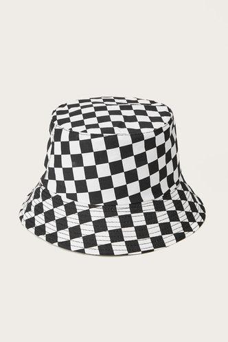 front_Betsy Elsa Checker Bucket Hat