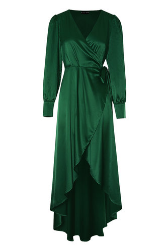 back_Glam It Up Dark Green Maxi Dress