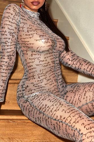 back_Katy Elsie Letter Print Jumpsuit