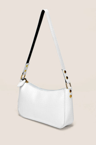 back_Zola Ella White Shoulder Bag