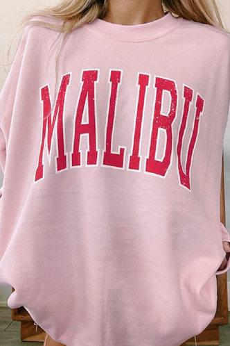 back_Candice Eileen Pink Sweatshirt