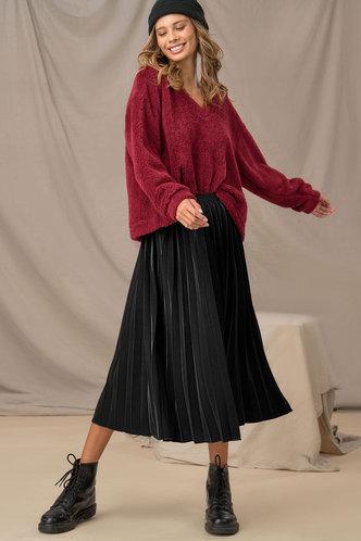back_Work Day Black Skirt