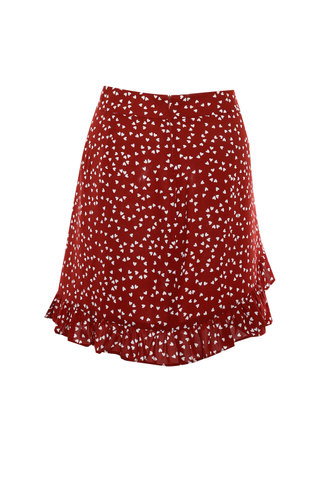 back_Frilly {color} Skirt