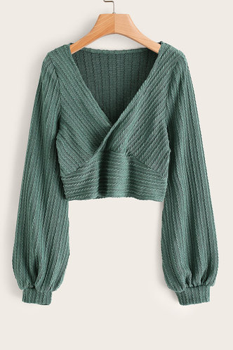 front_Greer Green Sweater