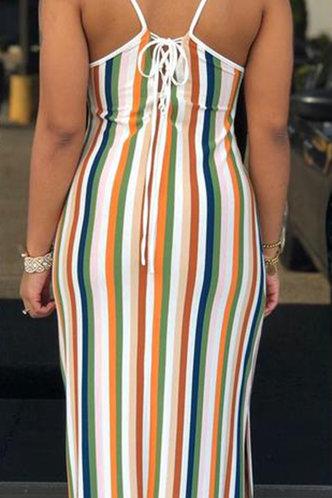 back_Albina Elsa Colorful Striped Cami Dress