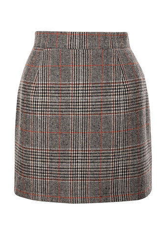 front_Perfect {color} Bodycon Skirt