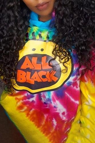 front_Pullover Tie Dye Sweatshirts & Hoodies