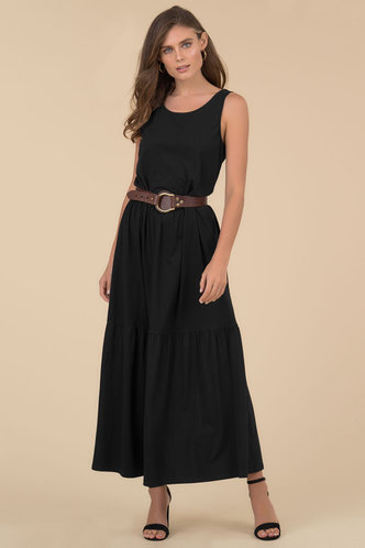 front_Palm Reader {color} Maxi Dress