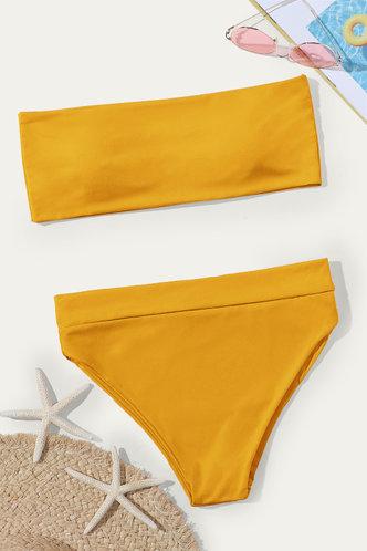 back_Almond Elaine Yellow Bikini