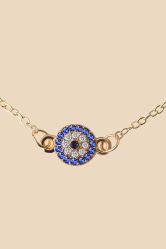 back_Albina Evangeline Gold Anklet Chain