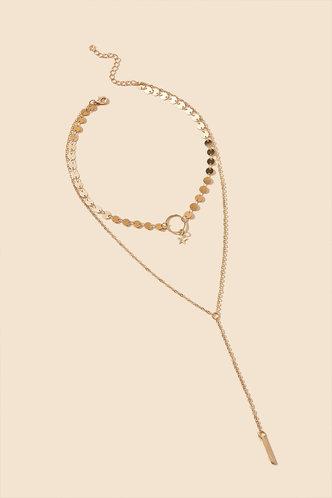 back_Marina Elaine Gold Layered Necklace