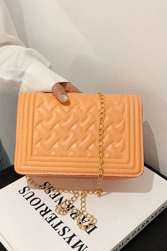 front_Annabelle Panum Orange Crossbody Bag