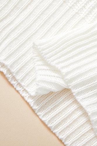back_Gemma Evangeline White Plus Sweater