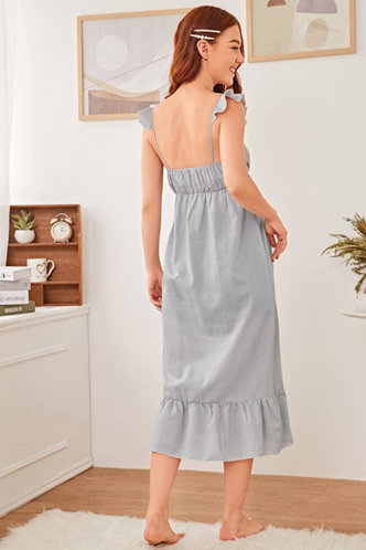 back_Honey Grey Dress