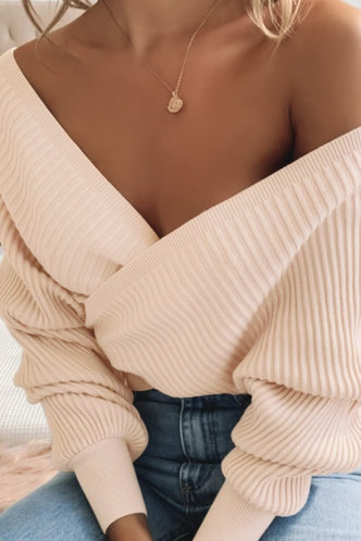 front_Pelagia Rose Quartz Sweater