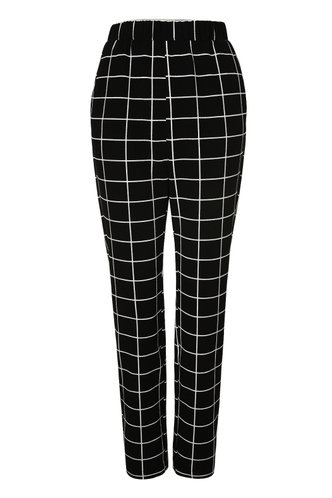 back_Pure Perfection Black High Rise Straight Leg Pants