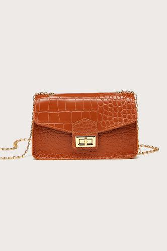 front_Nell Elsa Brown Crossbody Bag