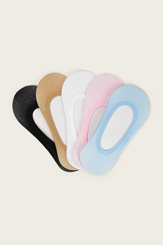 front_Greta Eartha Multicolor Socks 5pairs