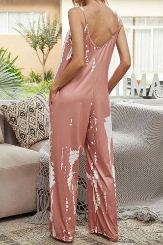 back_Kelley Erica Pink Tie Dye Jumpsuit