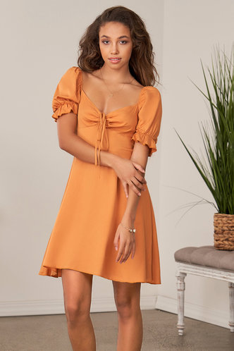 back_Love At First Sight {Color} Mini Dress