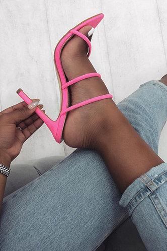 front_Celestine Emily Rose Pink Heeled Sandals