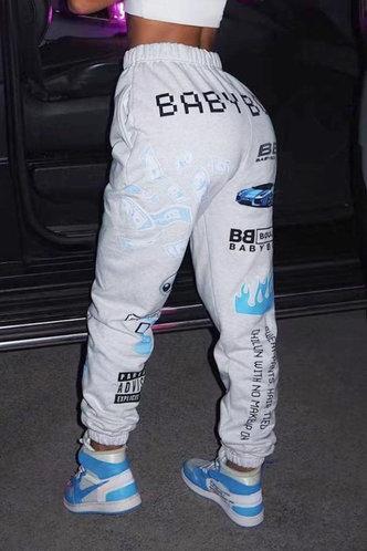 back_Cecelia Eunice White Sweatpants