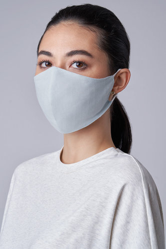 back_Non-medical Solid Color Cotton Reusable Face Mask