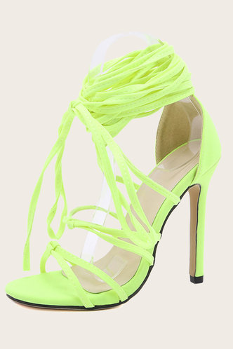 back_Angelina Erica Lime Green Lace Up Heeled Sandals