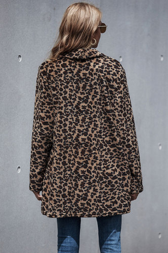 back_Astrid Elma Chic Leopard Polyester  Multicolor Outerwear