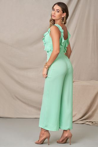 back_Close To Her Mint Green Jumpsuit