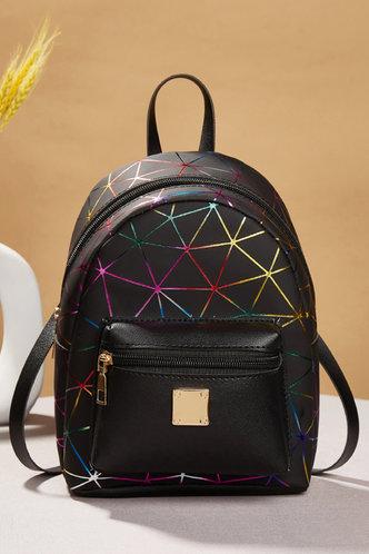 front_Tatum Erica Multi Color Bagpack
