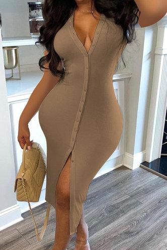 back_Shera Erin Khaki Dress