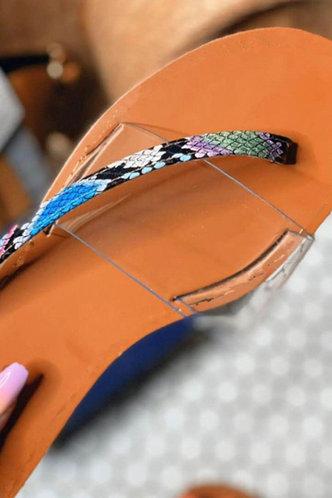 back_Hazel Pentium Brown Thong Slide Sandals