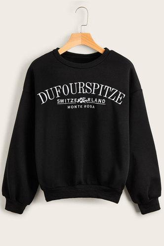 front_Zona Black Sweatshirt